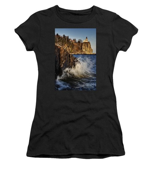 Lighthouse And Spray Women's T-Shirt