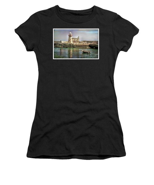 Lighthouse At Howth, Ireland Women's T-Shirt (Athletic Fit)