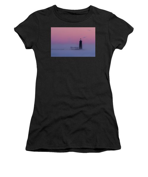 Lighthouse In The Clouds Women's T-Shirt