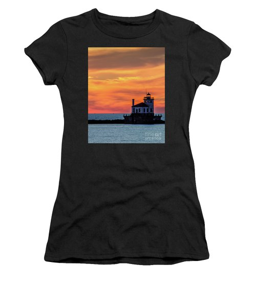 Lighthouse Silhouette Women's T-Shirt