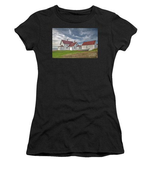 Keepers House At The Monheagn Lighthouse Women's T-Shirt