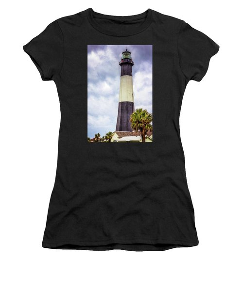 Women's T-Shirt featuring the photograph Lighthouse - Tybee Island, Georgia by Randy Bayne