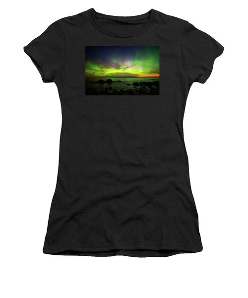 Lights 2 Women's T-Shirt (Athletic Fit)
