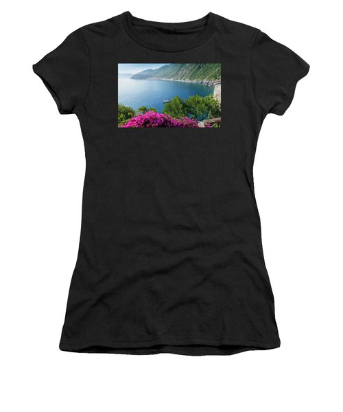 Ligurian Sea, Italy Women's T-Shirt