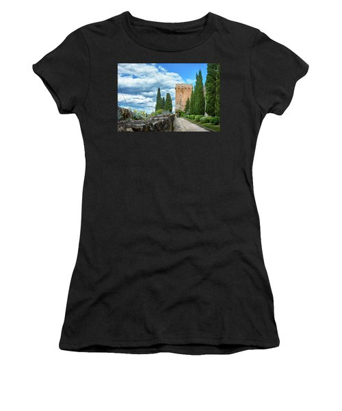 Like A Fortress In The Sky Women's T-Shirt