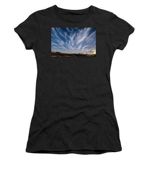 Like Feathers In The Sky Women's T-Shirt