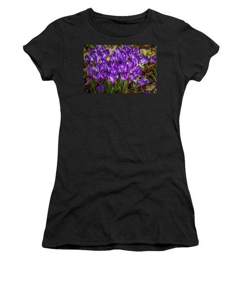 Lilac Crocus #g2 Women's T-Shirt