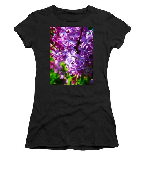 Lilac In The Sun Women's T-Shirt (Athletic Fit)