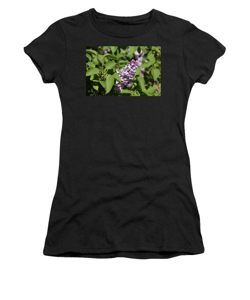 Women's T-Shirt (Junior Cut) featuring the photograph Lilacs 5551 by Antonio Romero