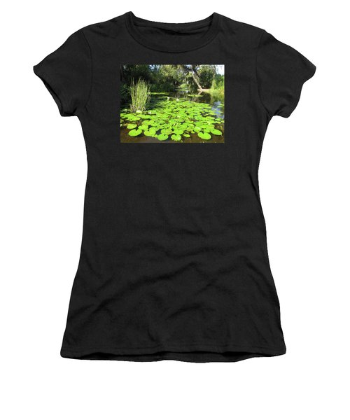 Lilies Of Bok Gardens Women's T-Shirt (Athletic Fit)