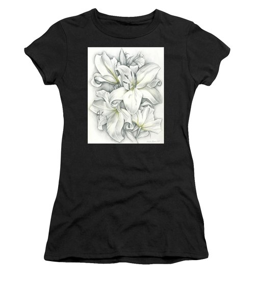 Lilies Pencil Women's T-Shirt