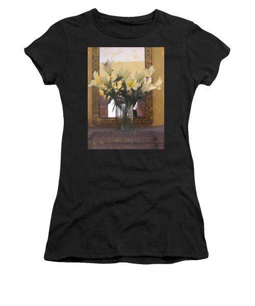 Lilies Women's T-Shirt (Athletic Fit)