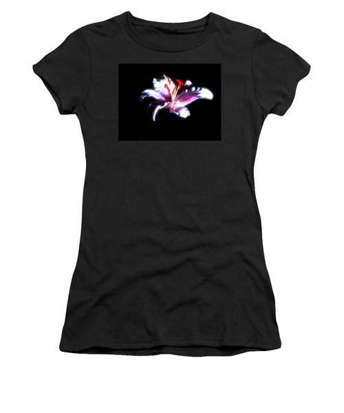 Lilly Flower  Women's T-Shirt (Athletic Fit)