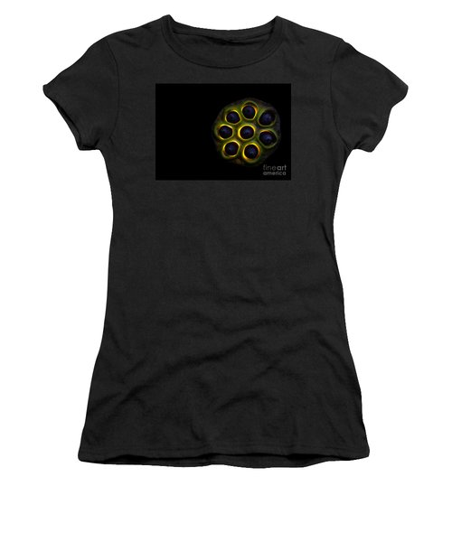 Lilly Pad Seed Pod Women's T-Shirt (Athletic Fit)