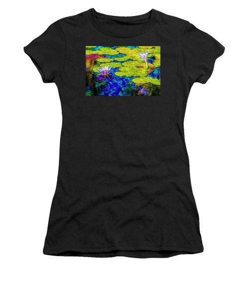 Women's T-Shirt (Junior Cut) featuring the photograph Lilly by Paul Wear