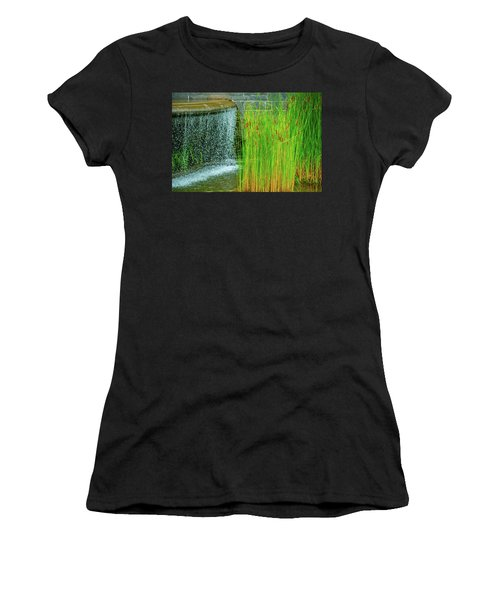 Lilly Pond In Battery Park Women's T-Shirt