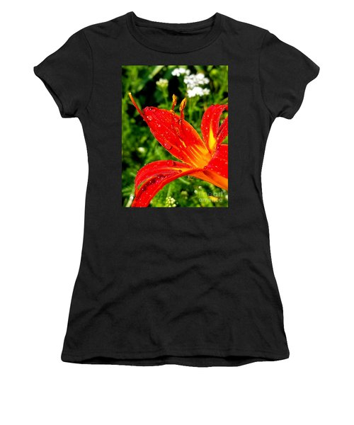 Lily And Raindrops Women's T-Shirt