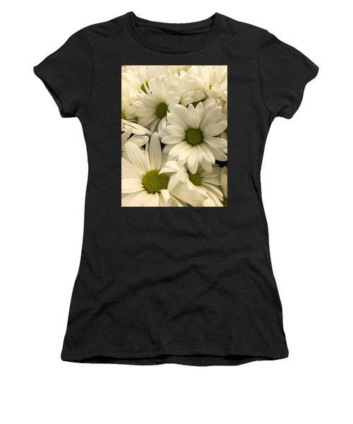 Lime Center Women's T-Shirt (Athletic Fit)