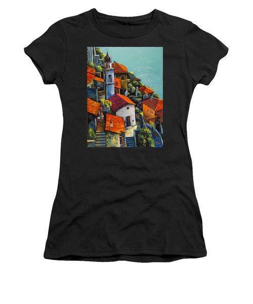Limone Del Garda Women's T-Shirt (Athletic Fit)