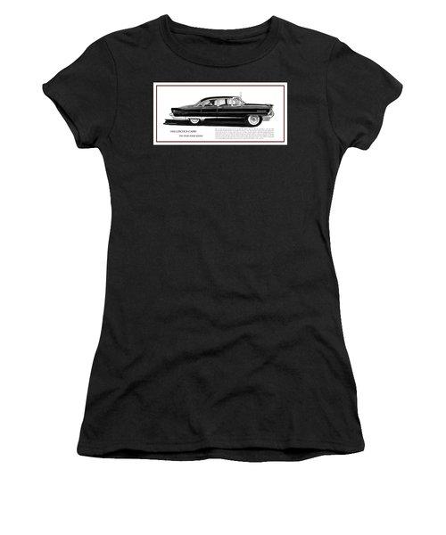 Lincoln Capri 1956 Women's T-Shirt (Junior Cut) by Jack Pumphrey