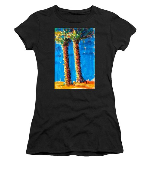 Lincoln Rd Date Palms Women's T-Shirt