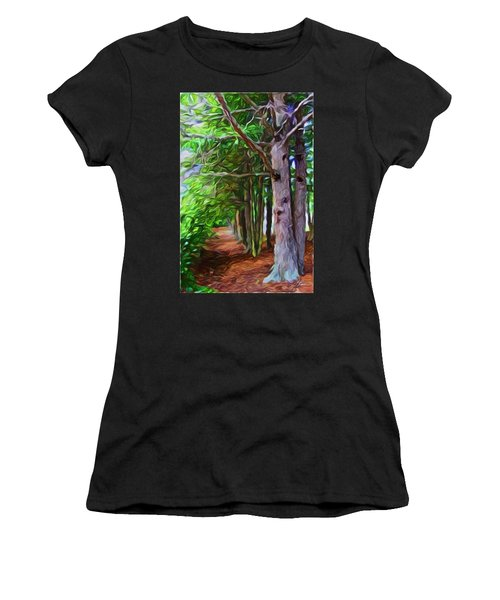 Lincoln's Path Women's T-Shirt (Athletic Fit)