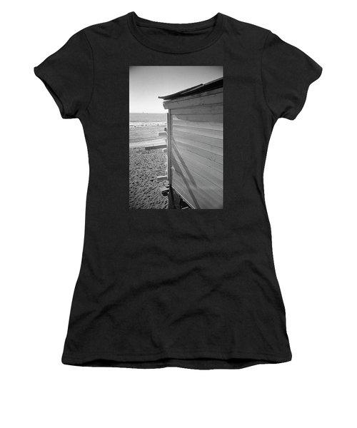 Lines In Ostia Beach Women's T-Shirt