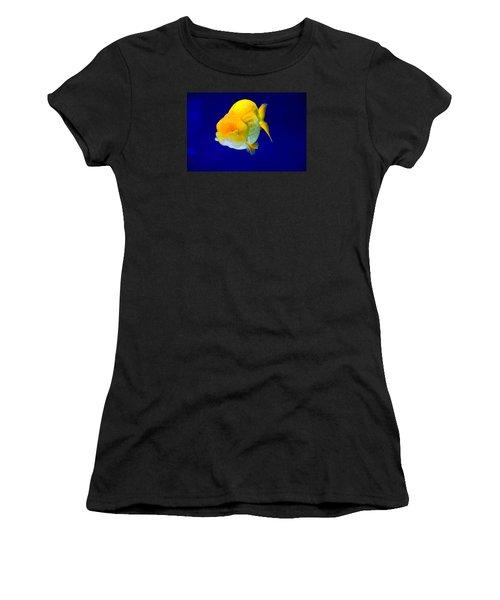 Lion Head Goldfish 5 Women's T-Shirt (Athletic Fit)