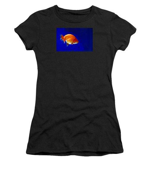 Lion Head Goldfish 6 Women's T-Shirt (Athletic Fit)