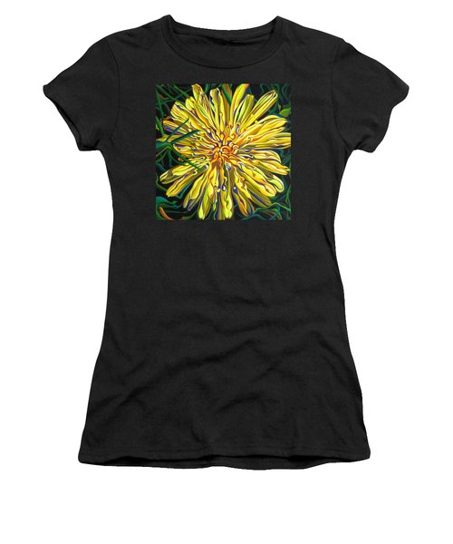 Lion In The Grass Women's T-Shirt