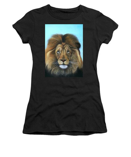 Lion - The Majesty Women's T-Shirt (Athletic Fit)