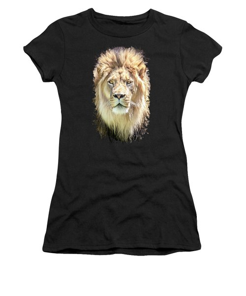 Women's T-Shirt featuring the photograph Lions Mane by David Millenheft
