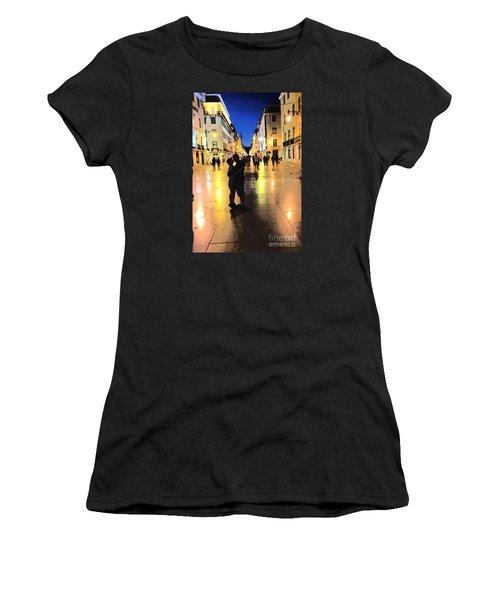 Lisbon Love Women's T-Shirt (Junior Cut) by Tom Wurl