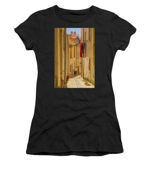 Lisbon Street # 1 Women's T-Shirt