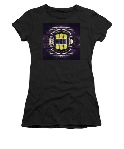 Lisbon Tram Women's T-Shirt (Junior Cut) by Jorge Ferreira