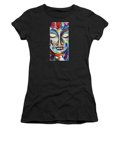 Little Buddha Women's T-Shirt (Athletic Fit)