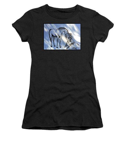 Little Deer And Wind Spirit Women's T-Shirt