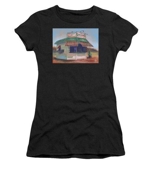 Little Drive-in On South Hawkins Ave Women's T-Shirt