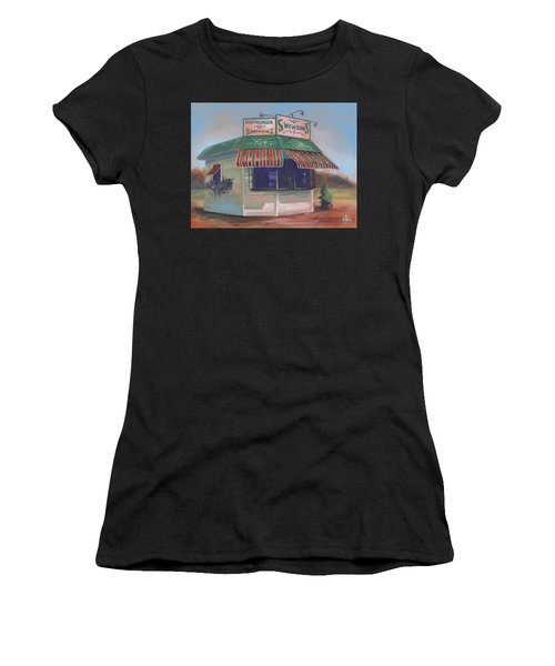 Little Drive-in On South Hawkins Ave Women's T-Shirt (Athletic Fit)