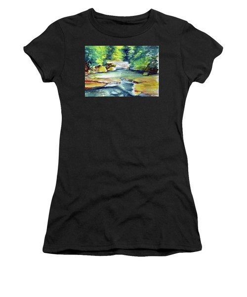 Little Falls Women's T-Shirt (Athletic Fit)