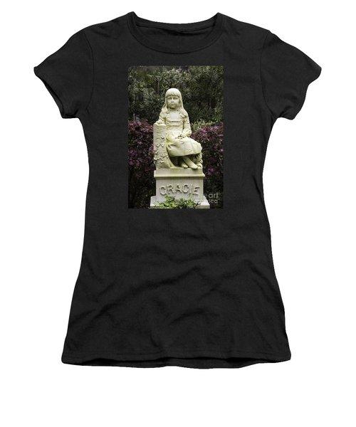 Little Gracie Bonaventure Cemetery Women's T-Shirt (Athletic Fit)