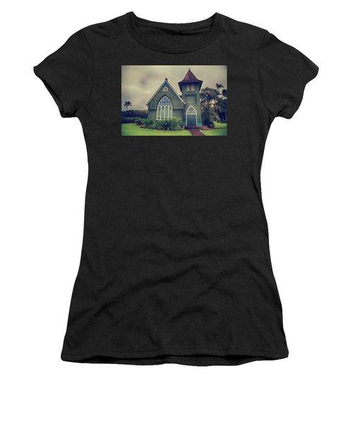 Little Green Church Women's T-Shirt