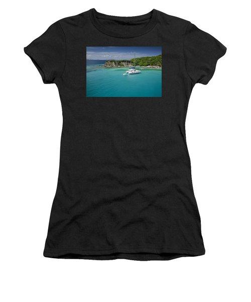 Little Harbor, Peter Island Women's T-Shirt
