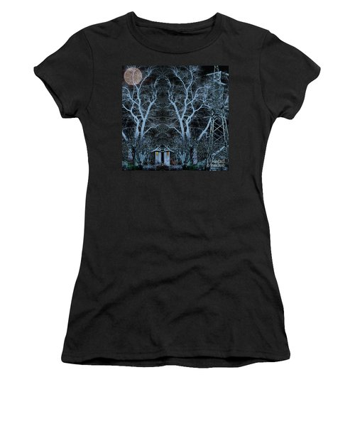 Little House In The Woods Women's T-Shirt