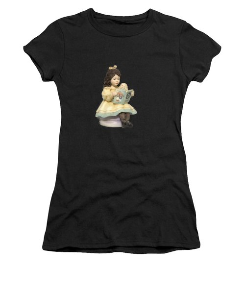 Little Miss Muffet Cutout Women's T-Shirt (Athletic Fit)