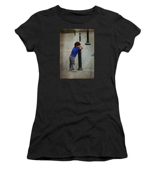 Little Peruvian Boy Women's T-Shirt