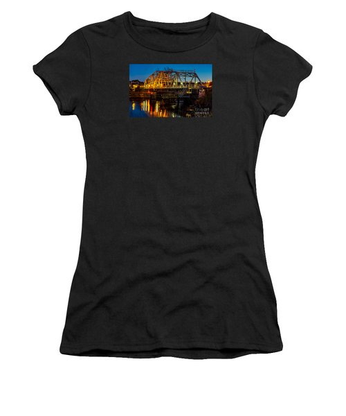Little River Swing Bridge Women's T-Shirt (Athletic Fit)