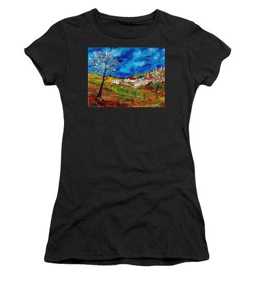 Little Village Women's T-Shirt (Athletic Fit)