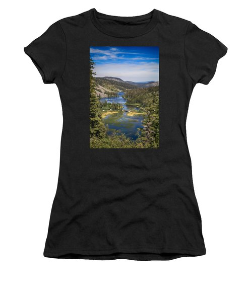 Women's T-Shirt featuring the photograph Living by Laurie Search