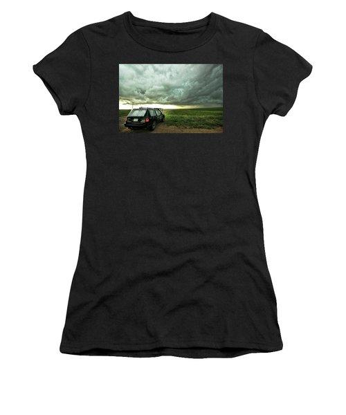 Living Saskatchewan Sky Women's T-Shirt